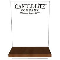 Candle-lite Paulownia Small counter display 29 cm